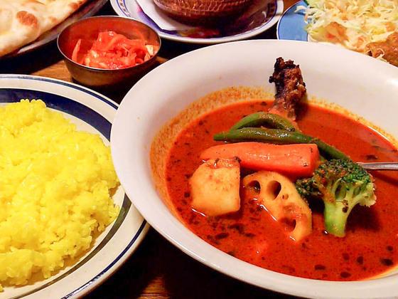 北区人気のカレー店「ラム」でスープカリー 8