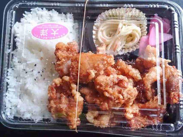 唐揚げ弁当 その量に… 札幌市南区の弁当屋さん 6