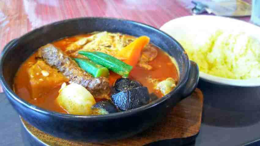 天竺本店でスープカレー 6