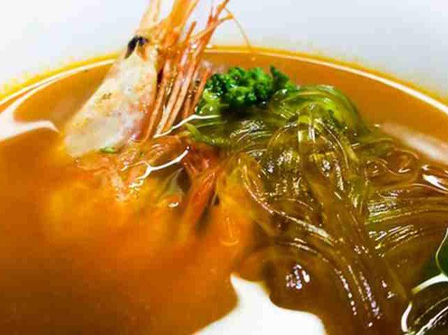 海老出汁のスープカレーを試作しました 43
