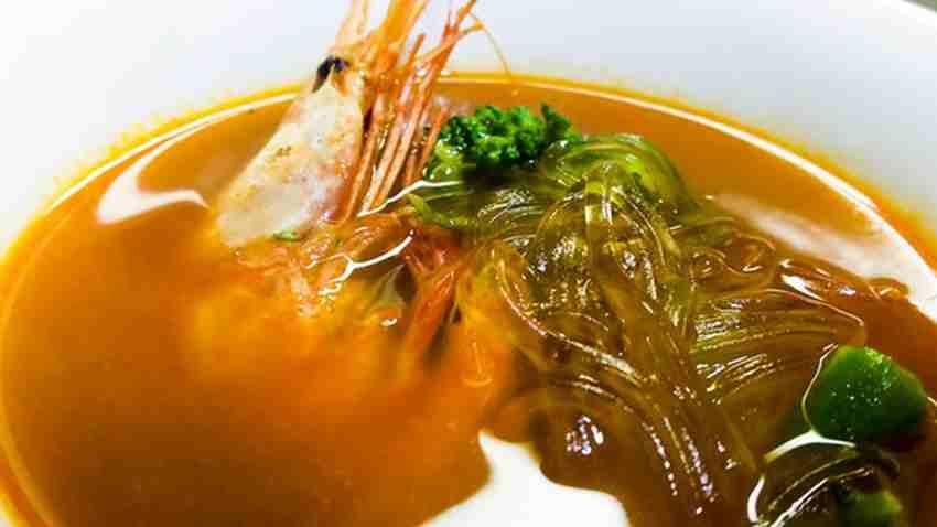 海老出汁のスープカレーを試作しました 14