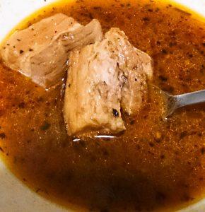 300gの豚角煮をスープカレーで食べよう 6