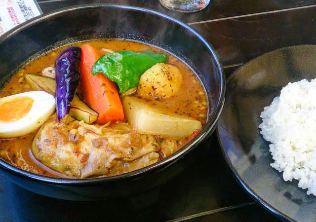 【閉店】ワカサギ釣りで冷えた体にスープカレー 33
