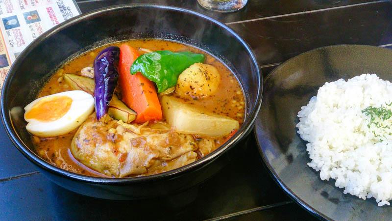 【閉店】ワカサギ釣りで冷えた体にスープカレー 18