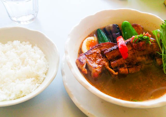 Curry Power パンチの梅スープカレー 6