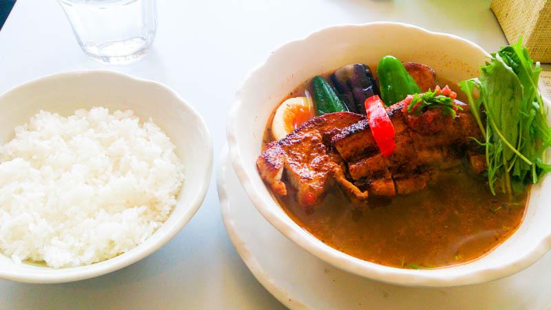 Curry Power パンチの梅スープカレー 1