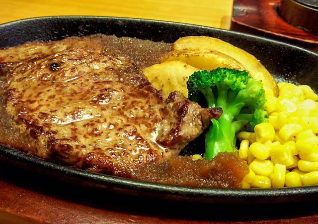 ステーキ宮で肉を食う 22