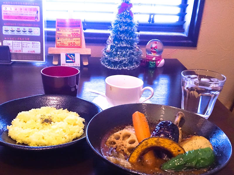 【閉店】南区のオレンジスプーンでスープカレー 4