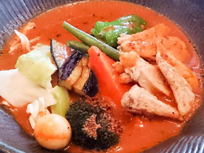 札幌市豊平区のlavi 平岸店でスープカレー 17
