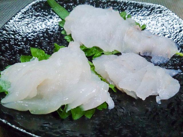 釣った魚を食べる…マツカワ 真カジカ 石カレイ 14