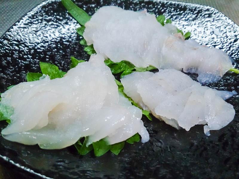 生銀鮭の刺身 6