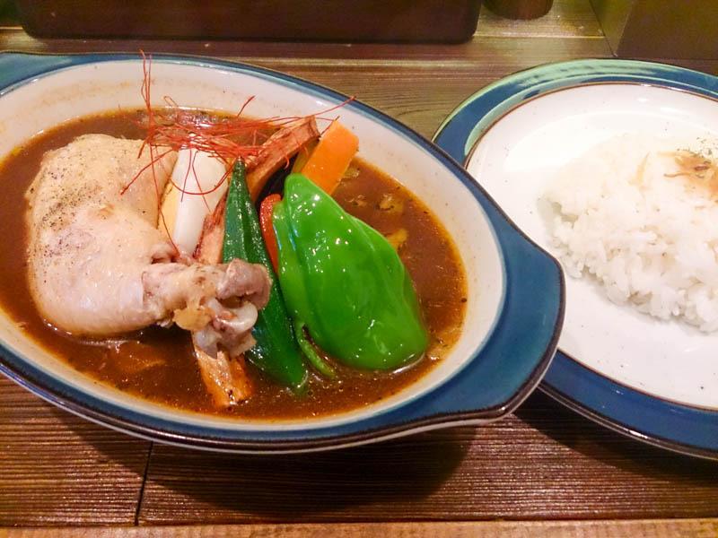 Curry Power パンチの梅スープカレー 5