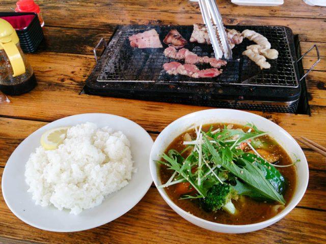 釣堀屋さんのスープカレー 9