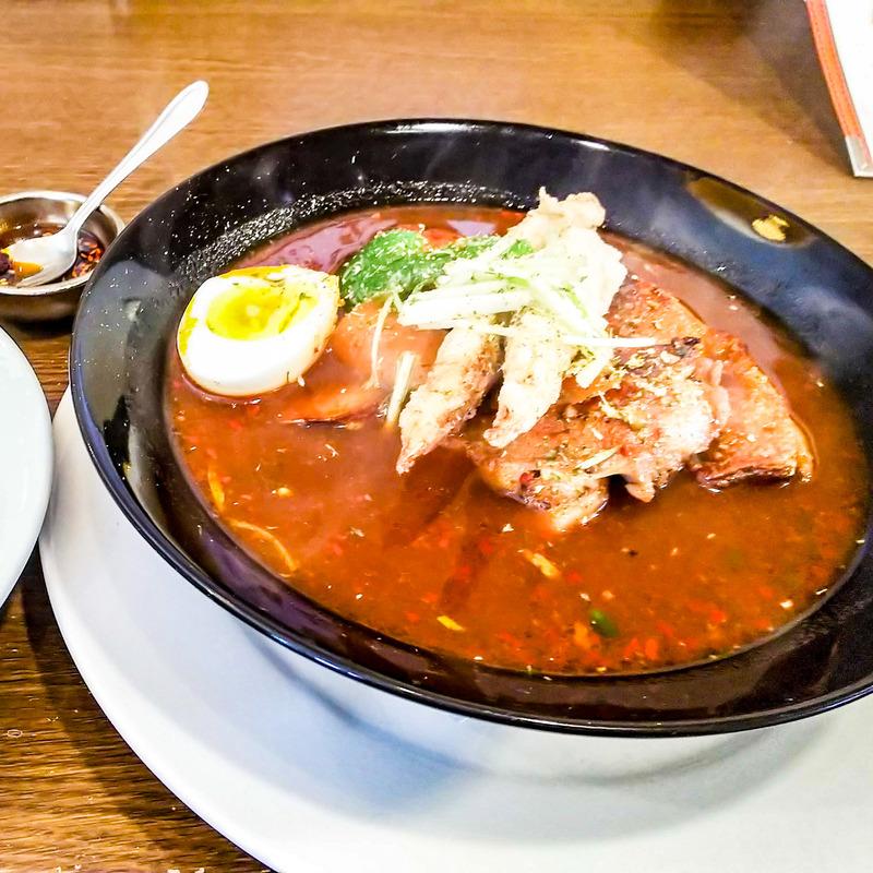 エビのスープカレー 奥芝商店 白石オッケー丸 4