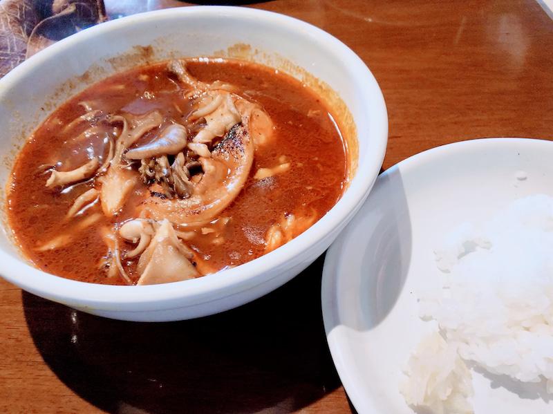 エビのスープカレー 奥芝商店 白石オッケー丸 3