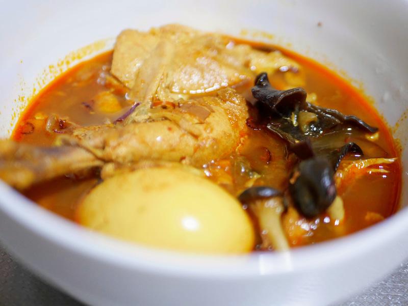 スープカレー用のスープストックでチキンカレー 2